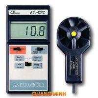 Đo tốc độ gió, nhiệt độ môi trường Lutron AM-4202