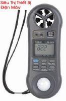 Máy đo tốc độ gió, độ ẩm, ánh sáng và nhiệt độ điện tử LM8000A