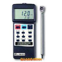 Máy đo tốc độ gió, lưu lượng gió, nhiệt độ Lutron AM4216