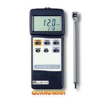 Máy đo tốc độ gió và nhiệt độ môi trường Lutron AM-4213
