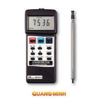 Máy đo tốc độ, lưu lượng gió, nhiệt độ môi trường Lutron AM4214