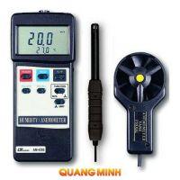Thiết bị đo tốc độ gió, độ ẩm, nhiệt độ môi trường Lutron AM-4205